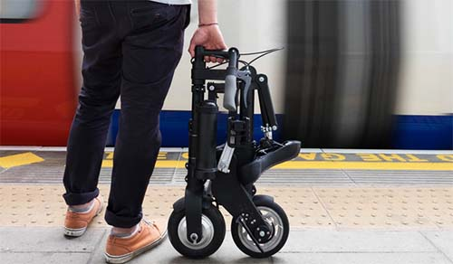 A-bike Electric folded