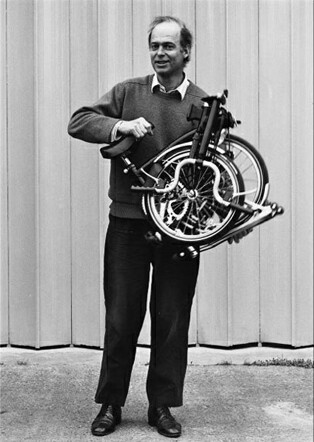 Inventor of the Brompton folding bike Andrew Ritchie