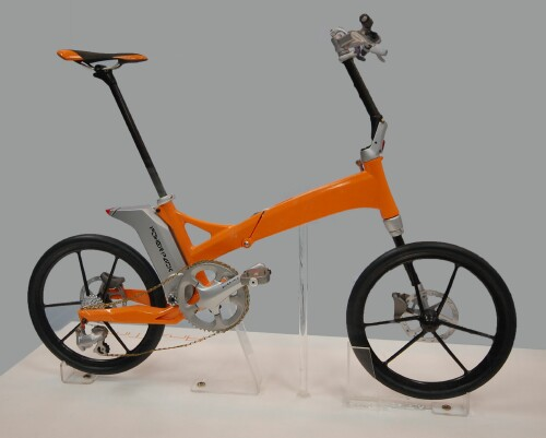 Larry Chen's Anytime folding bike