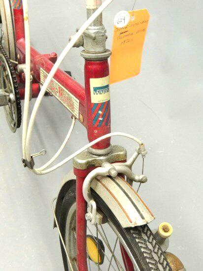 Auto-Mini folding bike