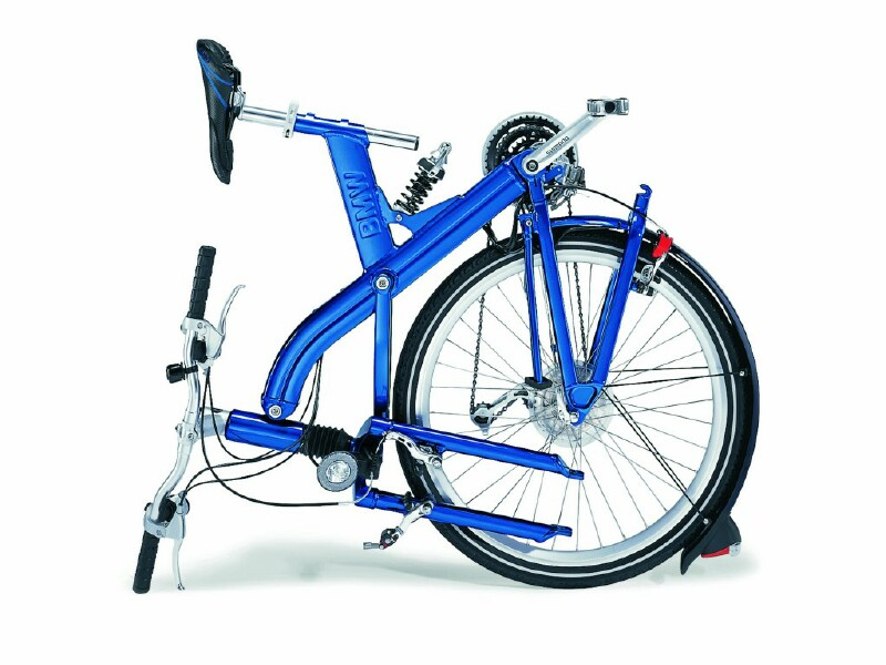 BMW Q5.T folding bike - folded