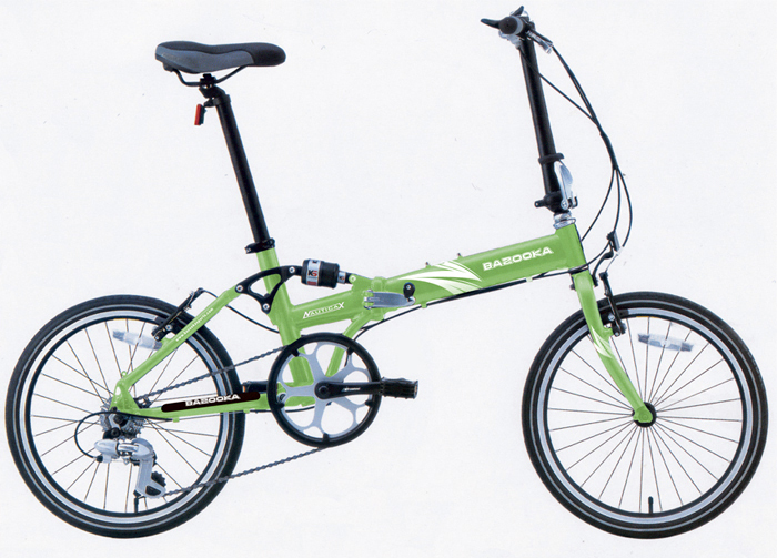 Bazooka Nautica-X folding bike