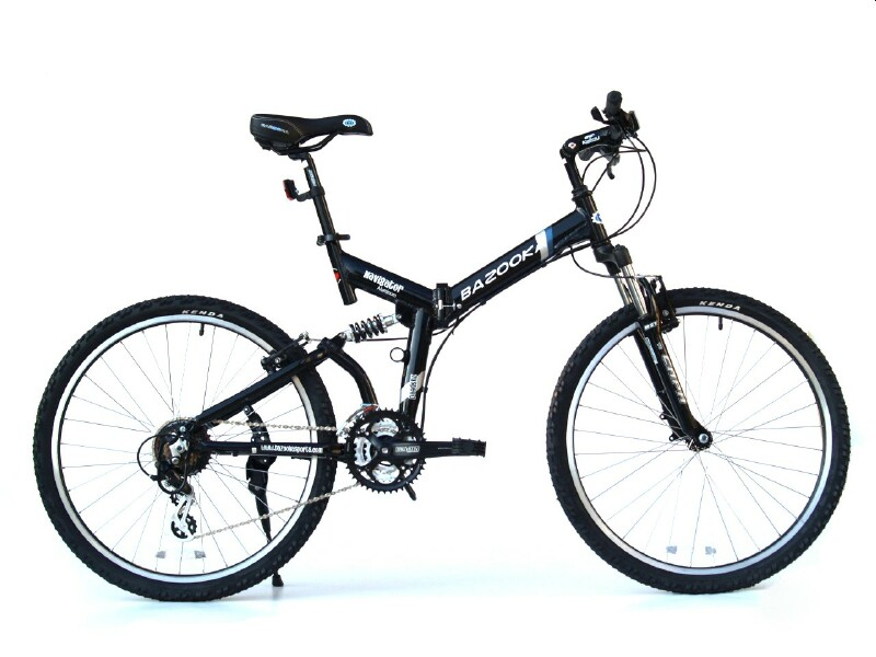 Bazooka Navigator folding bike
