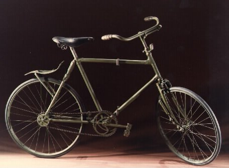 1911 Bianchi military folding bike
