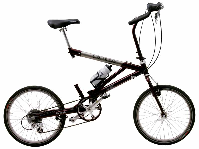 Friday Air Glide Folding Bike