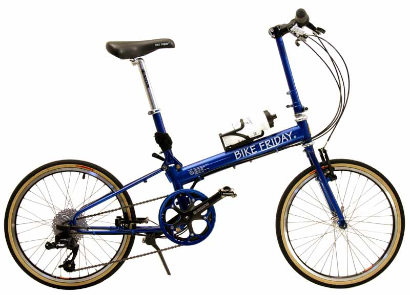 Bike Friday - New World Tourist folding bike
