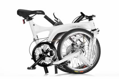 Birdy Alivio folding bike - folded
