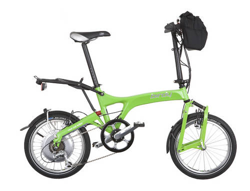 Birdy Hybrid Pedelec folding bike