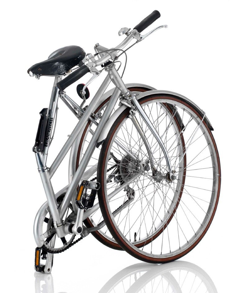 Bridgestone Grandtech GR-27 folding bike - folded