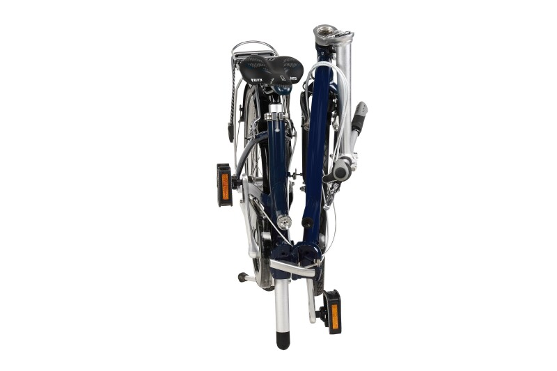 Dahon Briza D7 folding bike - folded