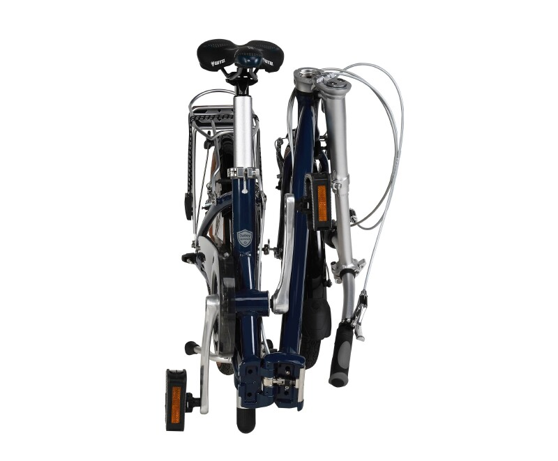 Dahon Ciao D5 folding bike - folded