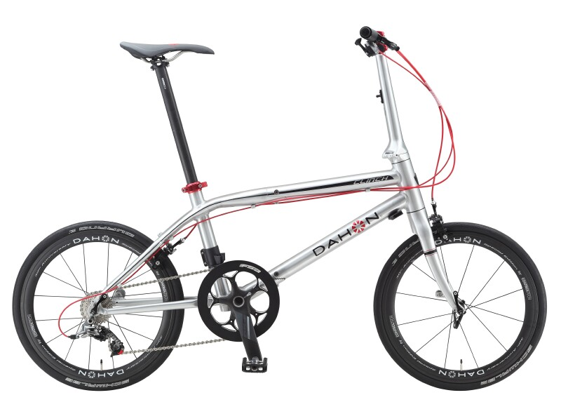 Dahon Clinch D10 folding bike