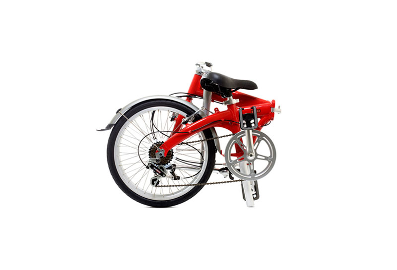 Dahon Eco 3 folding bike - folded