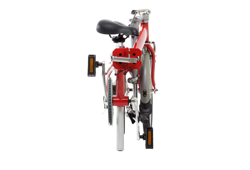 Dahon Eco 3 folding bike - folded 2