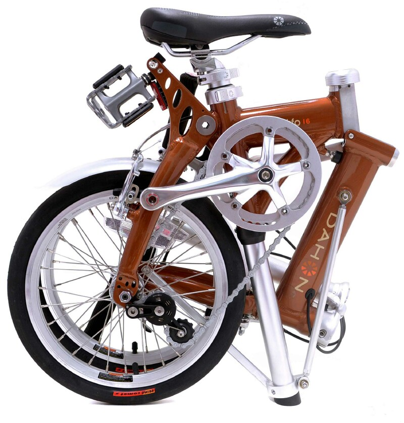 Dahon Jifo 16 folding bike - folded