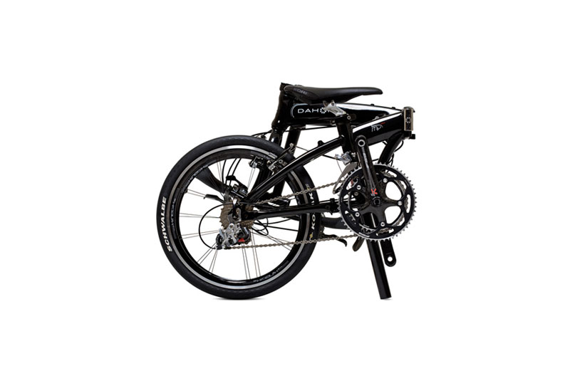 Dahon Mu EX folding bike - folded 1
