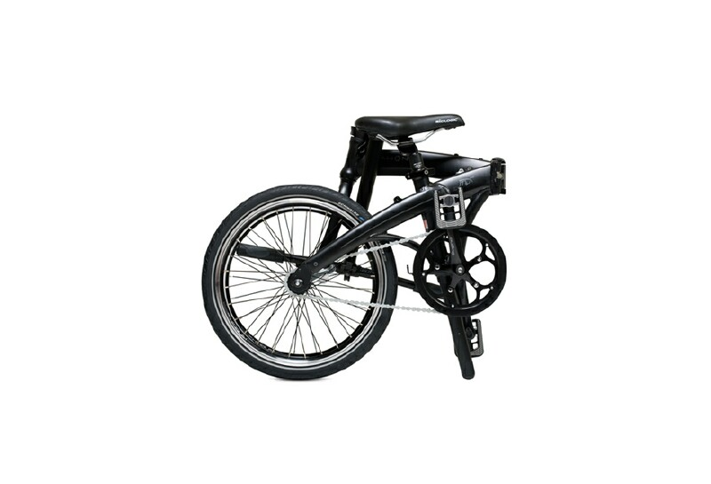 Dahon Mu Uno folding bike - folded