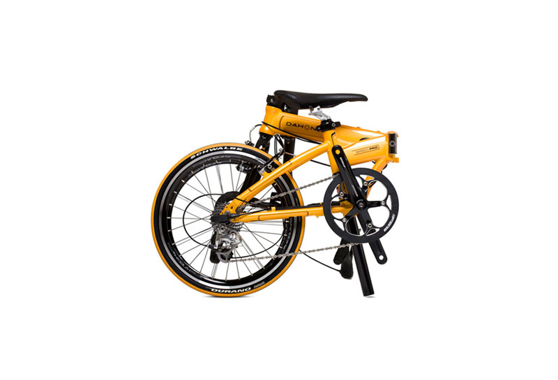 Dahon Speed Pro TT folding bike - folded 1