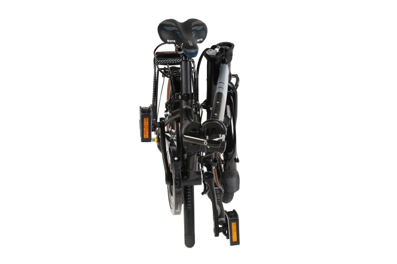 Dahon Vitesse D7HG folding bike - folded
