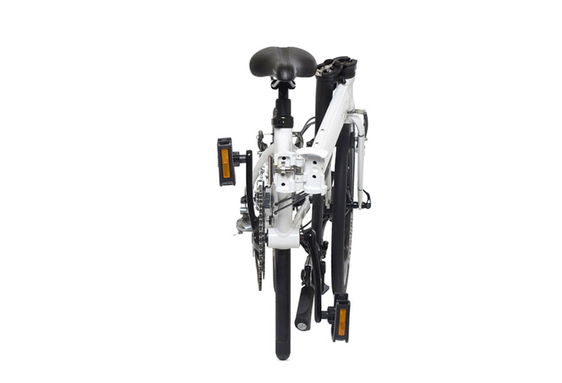 Dahon Vitesse P18 folding bike - folded 2