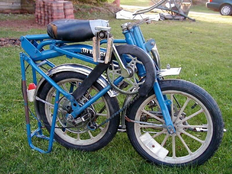 Bici Pieghevole Di Blasi.Di Blasi R20 Folding Bike