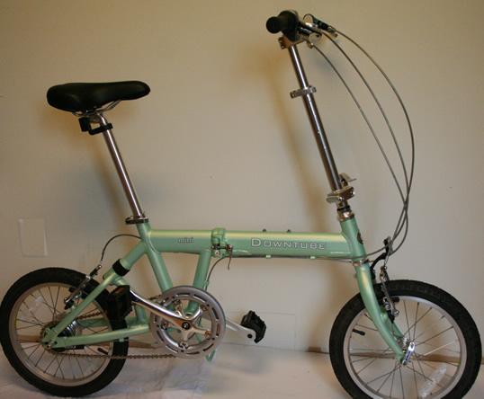 Downtube 2008 Mini 8 Folding Bike