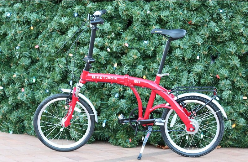Downtube 9 folding bike