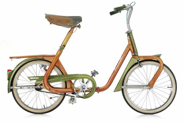 Late 60's Duemila Italian folding bike