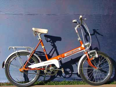 Auto-Mini folding bike - Elswick Hopper