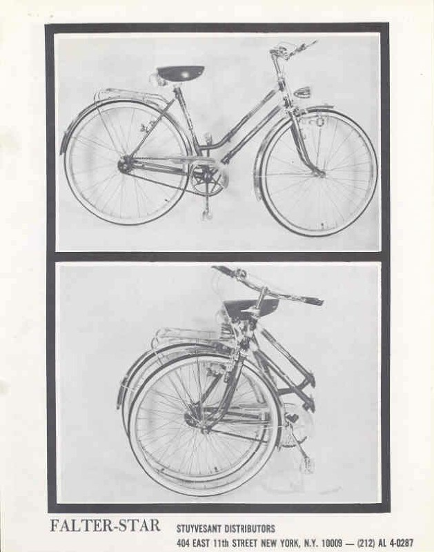 Falter Star folding bike brochure 01