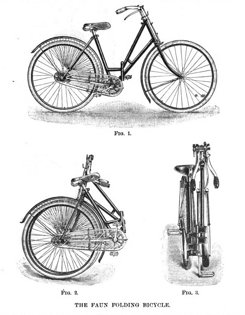 Faun folding bicycle