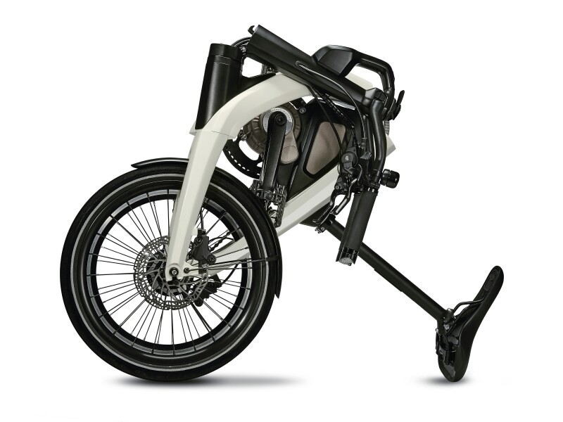 General Motors folding ebike - folded