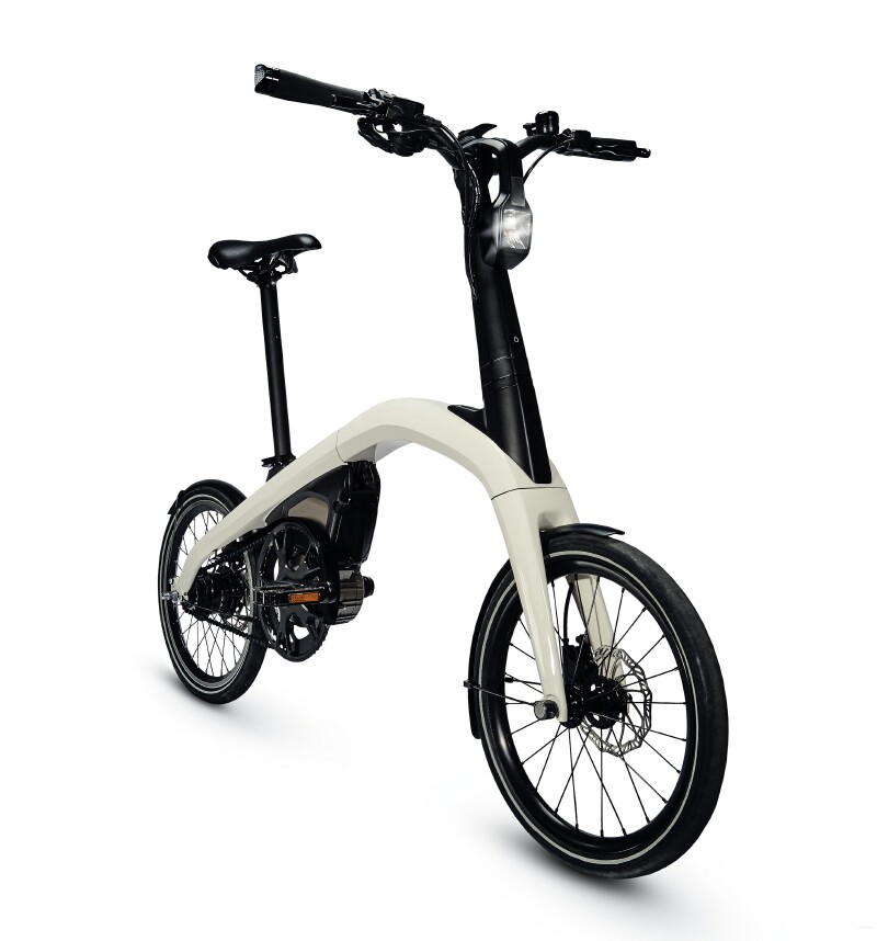 General Motors folding ebike - unfolded