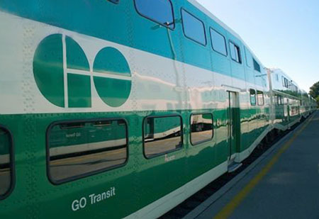GO Transit train