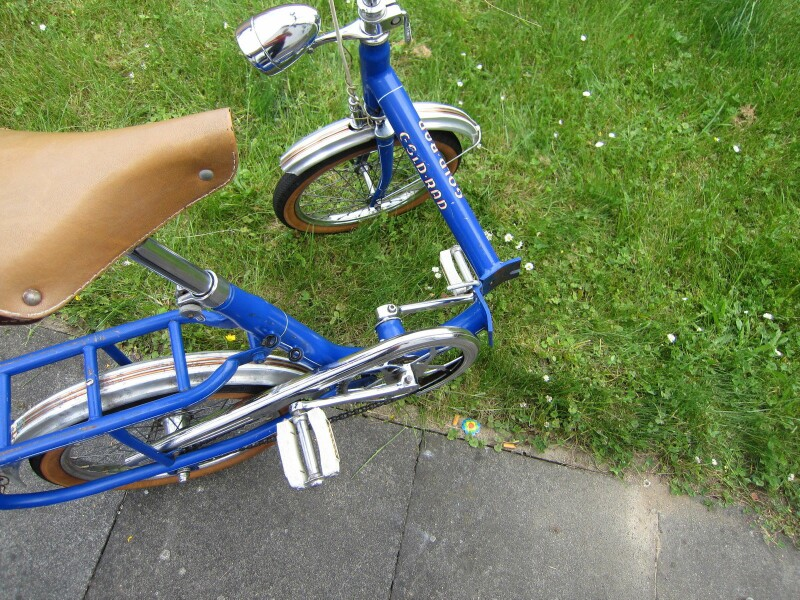 GOLD-RAD Piccolo folding bike - 2