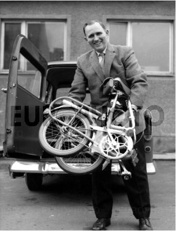 GOLD-RAD Piccolo folding bike - Nuremberg 1959