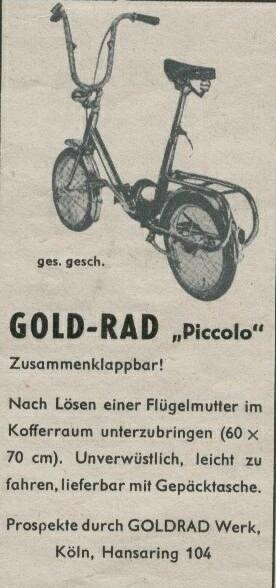 GOLD-RAD-Piccolo-folding-bike-advertisement-July-1958