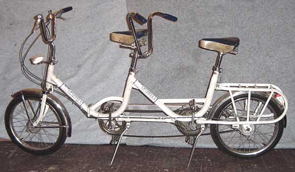 70s Graziella Tandem folding bike 1