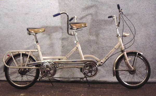 70s Graziella Tandem folding bike 2