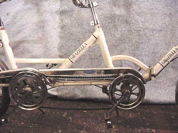 70s Graziella Tandem folding bike 3