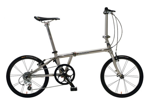 Hasa Minimax titanium folding bike