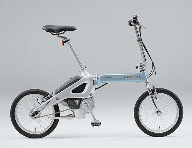 Honda Step Compo electric folding bike