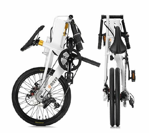 IFMove folding bike folded