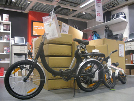 IKEA Forvana folding bike