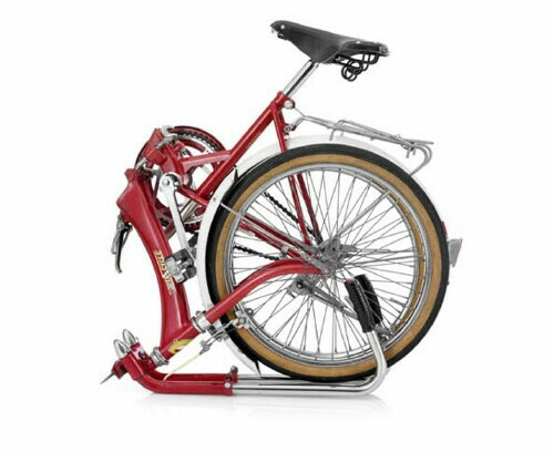 Japanese Katakura Porta-Cycle folding bike - folded