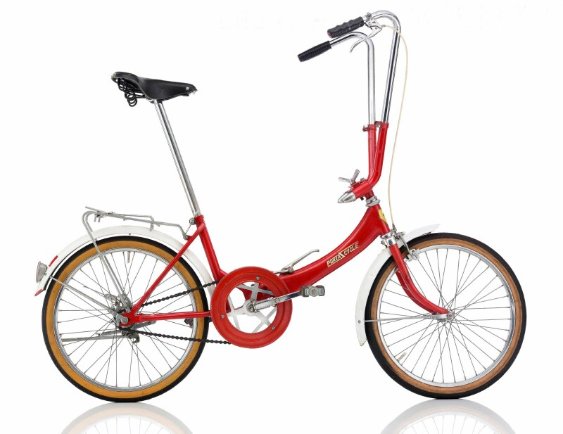 Katakura Silk Porta Cycle folding bike