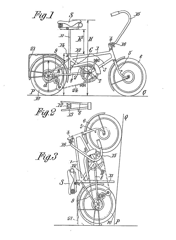 Andre Marcelin Le Petit Bi patent drawing 1