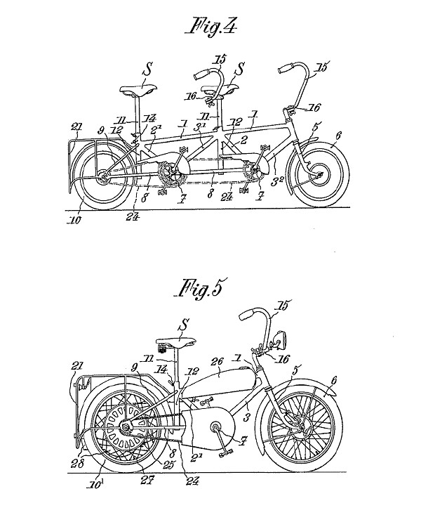 Andre Marcelin Le Petit Bi patent drawing 2
