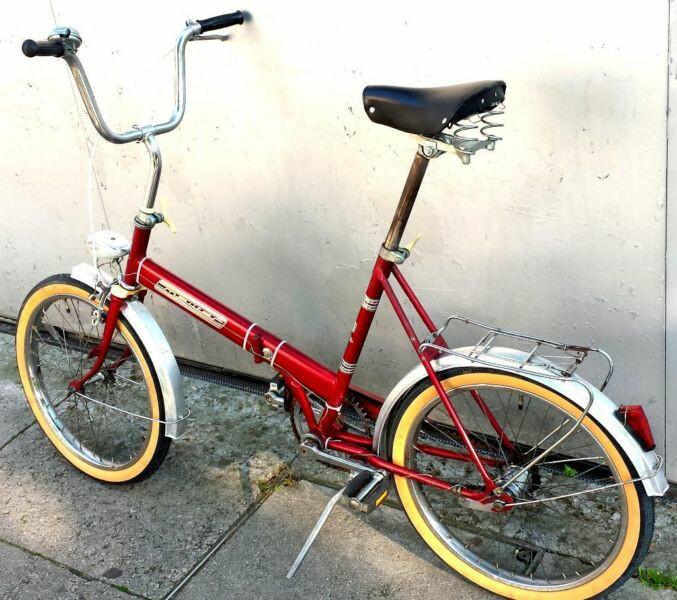 Meister folding bike