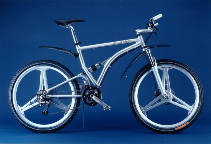 Mercedes-Benz folding bike